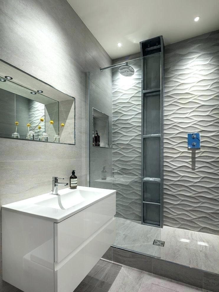 Modern Bathroom Wallpaper Elegant Modern Bathrooms - Textured Shower Wall Tiles - HD Wallpaper