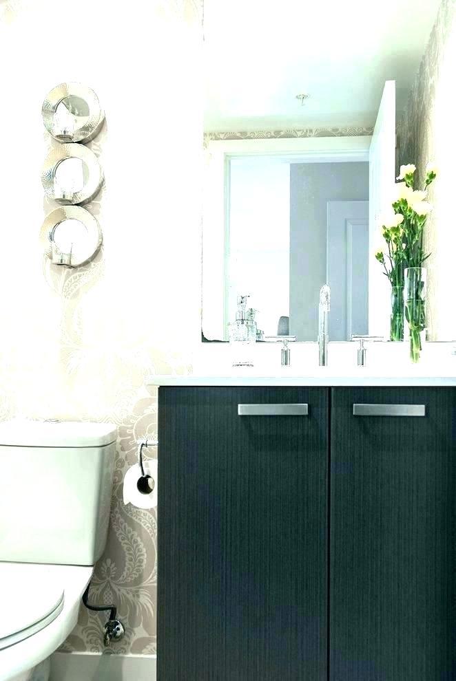 Modern Wallpaper For Bathrooms Trendy Bathroom Wallpaper - Modern Wallpaper Bathroom - HD Wallpaper