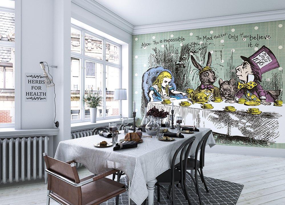 Alice In Wonderland Large Wall Mural 1000x720 Wallpaper Teahub Io
