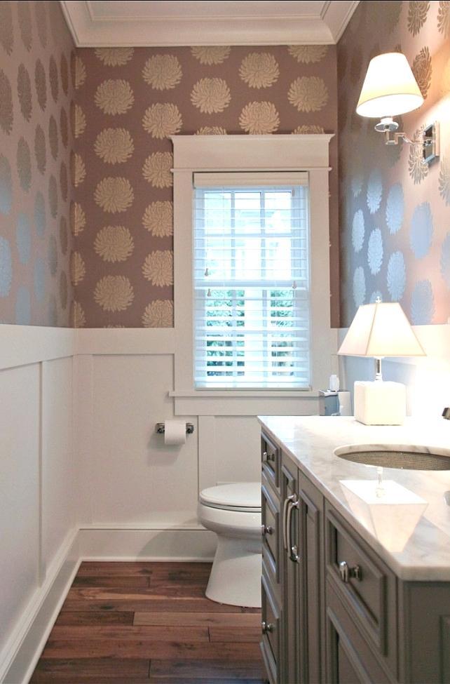 Bathroom Wallpaper Modern Half Paint Ideas Download - Half Wallpaper Half Paint Ideas - HD Wallpaper