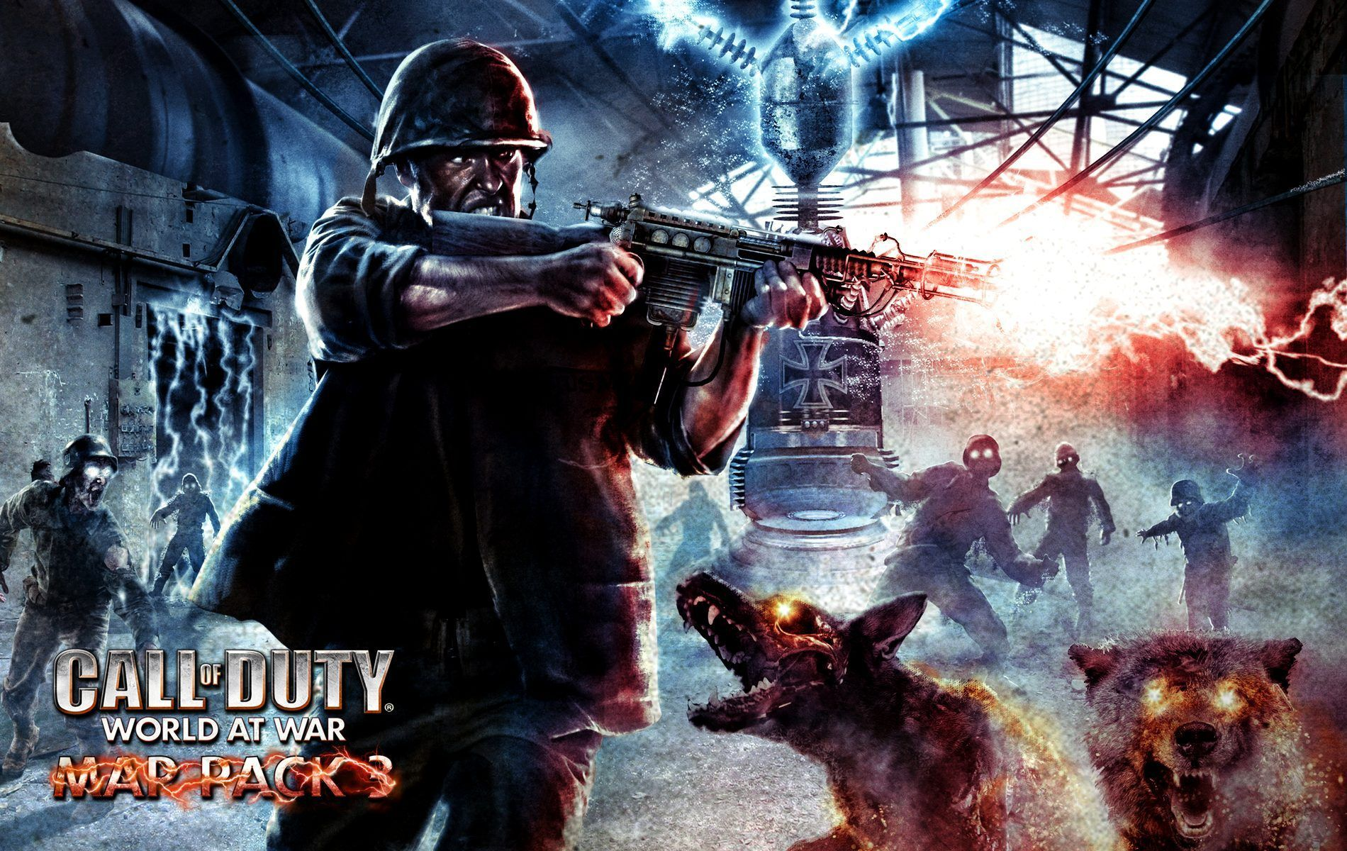 Cod Black Ops 3 Wallpaper Call Of Duty World At War Zombies 1900x1200 Wallpaper Teahub Io