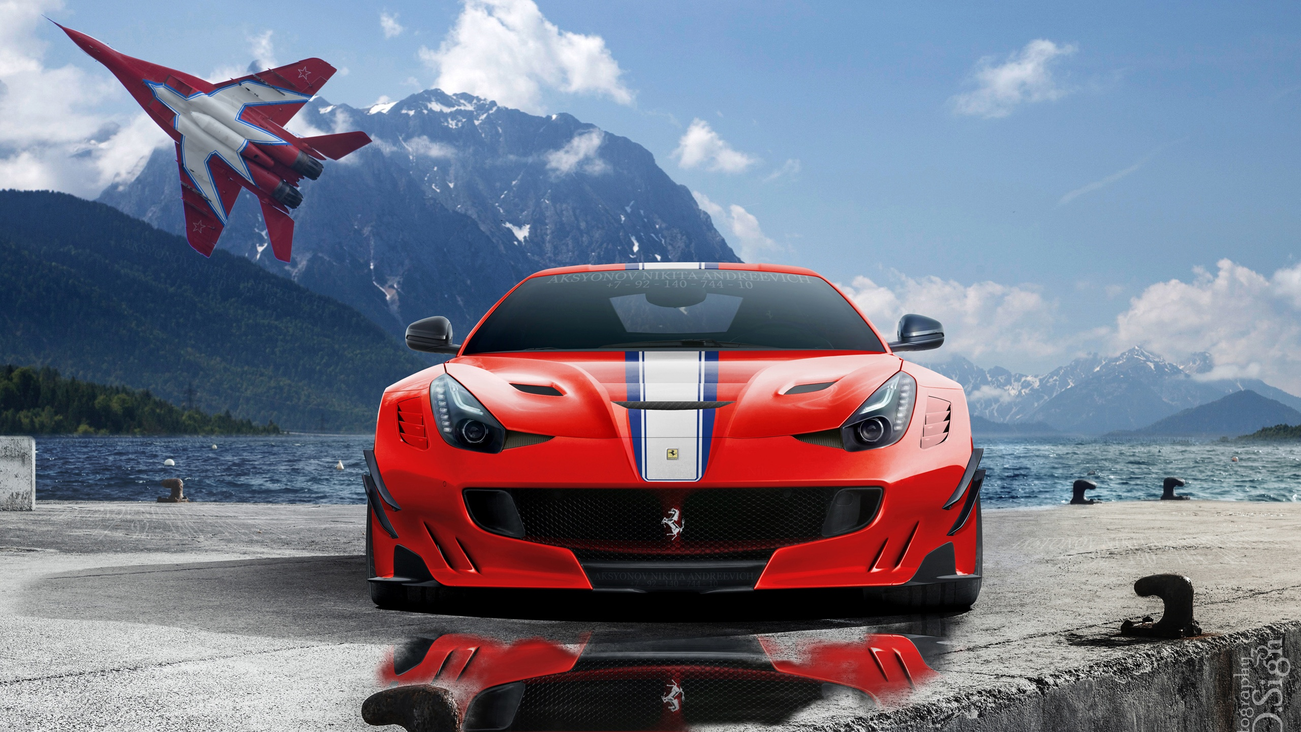 Ferrari Wallpapers Mobile Laferarri Ferrari F12 Tdf Speciale 2560x1440 Wallpaper Teahub Io
