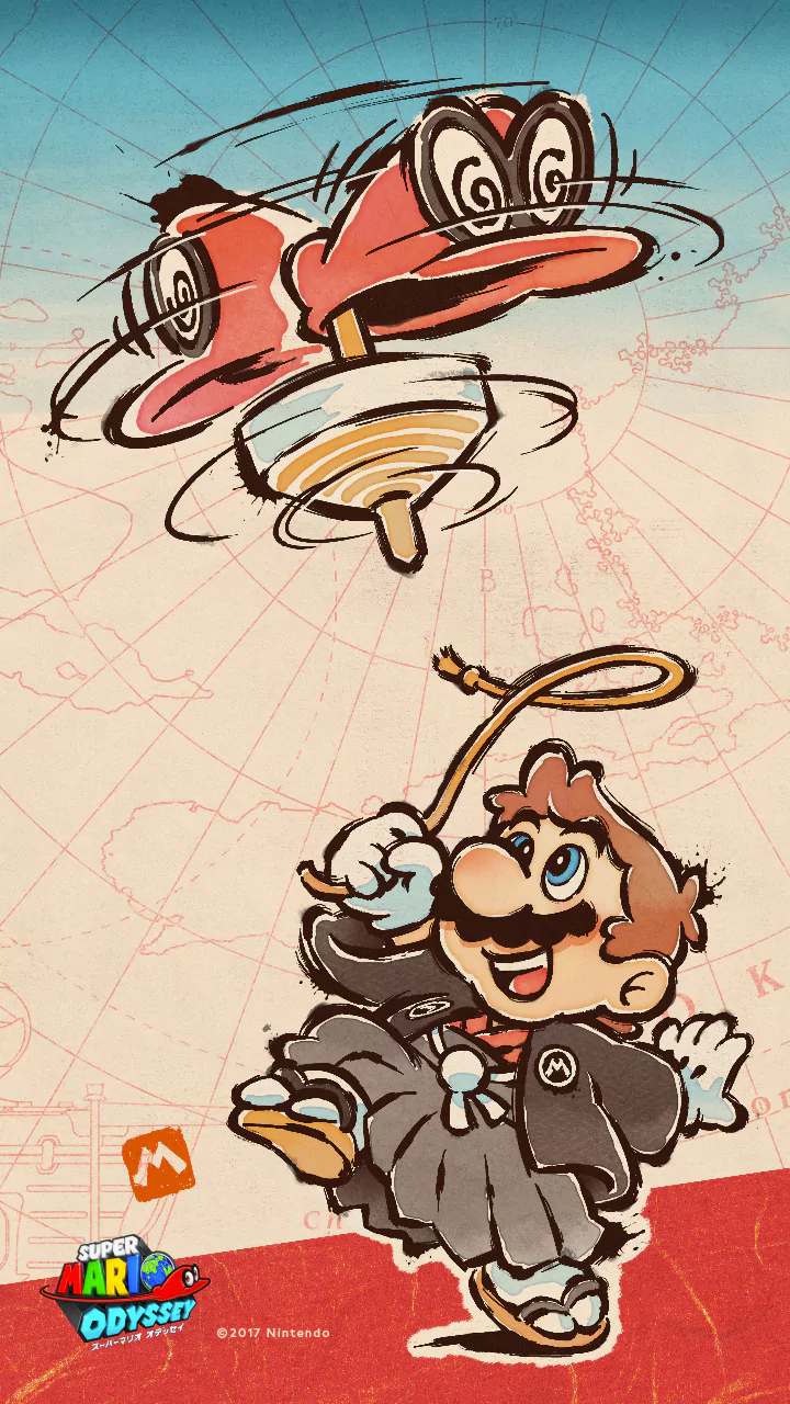 Super Mario Odyssey Wallpaper Phone 720x1280 Wallpaper Teahub Io