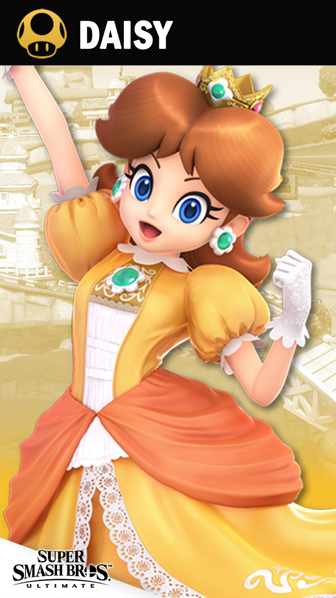 Super Smash Bros Ultimate Daisy - HD Wallpaper