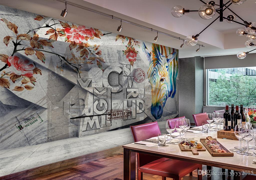 Ice Cream Shop Wall Painting - HD Wallpaper