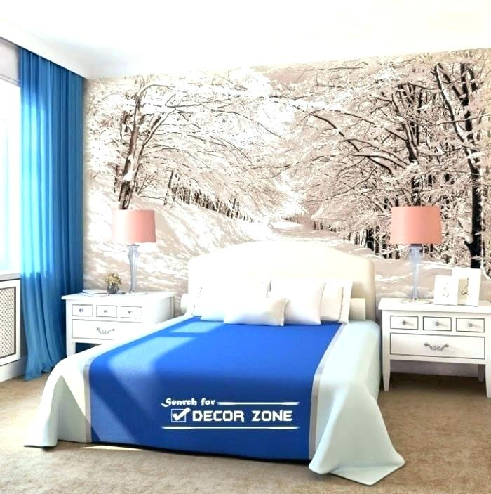 Bedroom Ideas Also Inspiring Pictures For Cool Wallpaper - Modern Bedroom With Wallpaper Design - HD Wallpaper