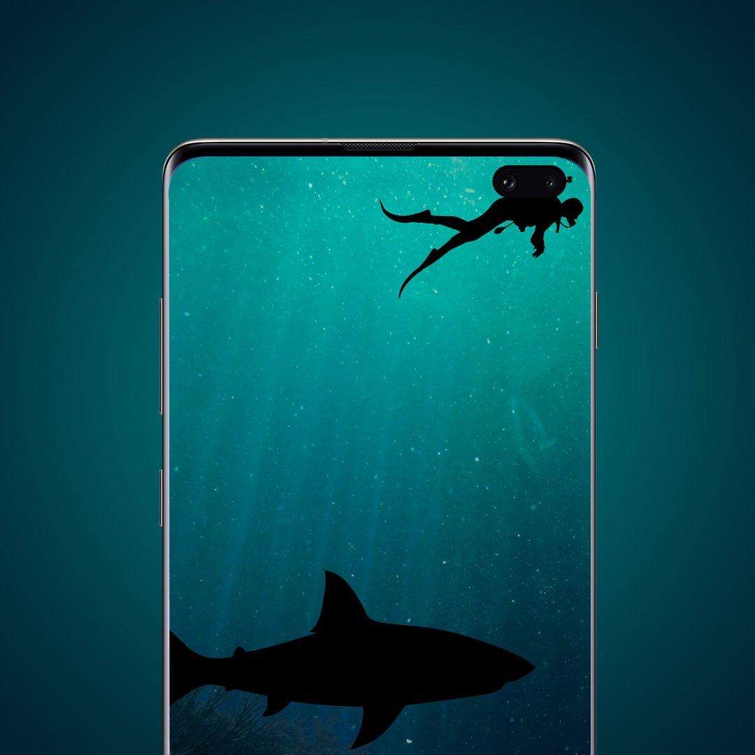Samsung Galaxy S10 Plus - HD Wallpaper