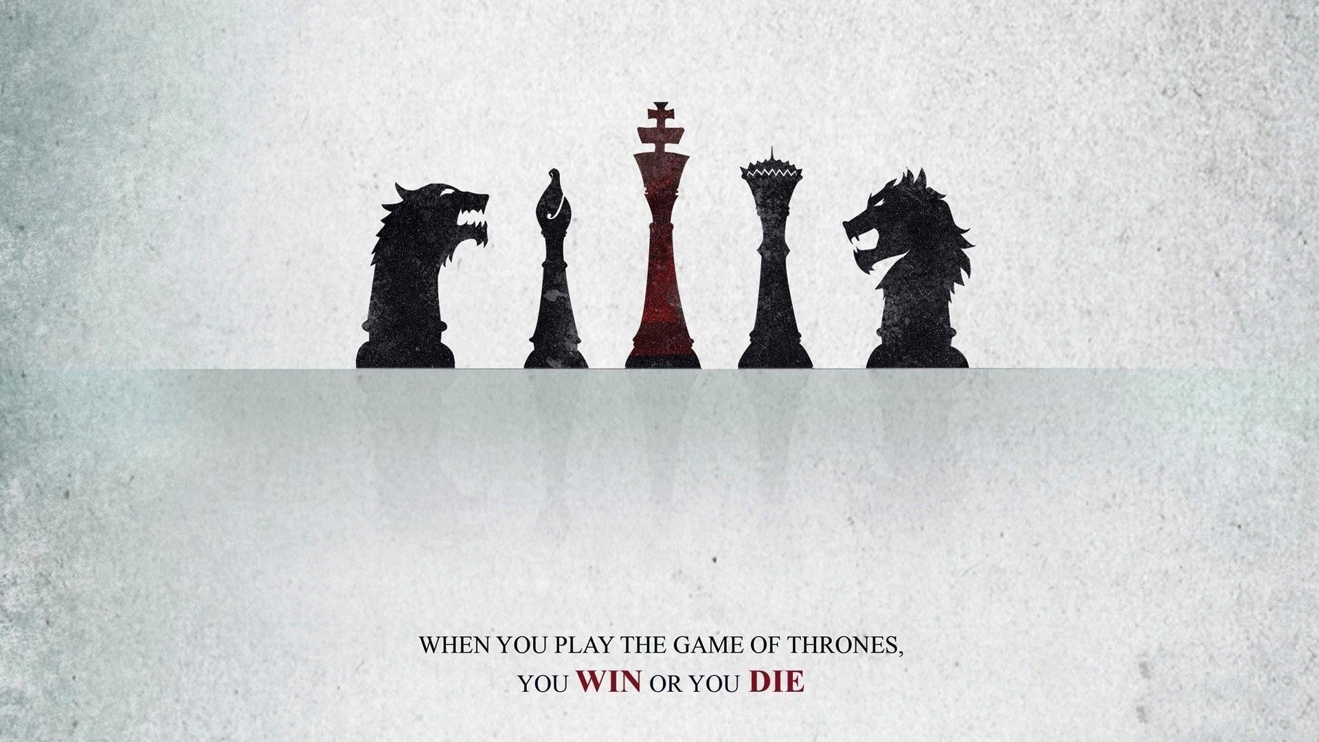 Attitude Quotes Hd Wallpapers - You Play The Game Of Thrones You Win Or You Die - HD Wallpaper