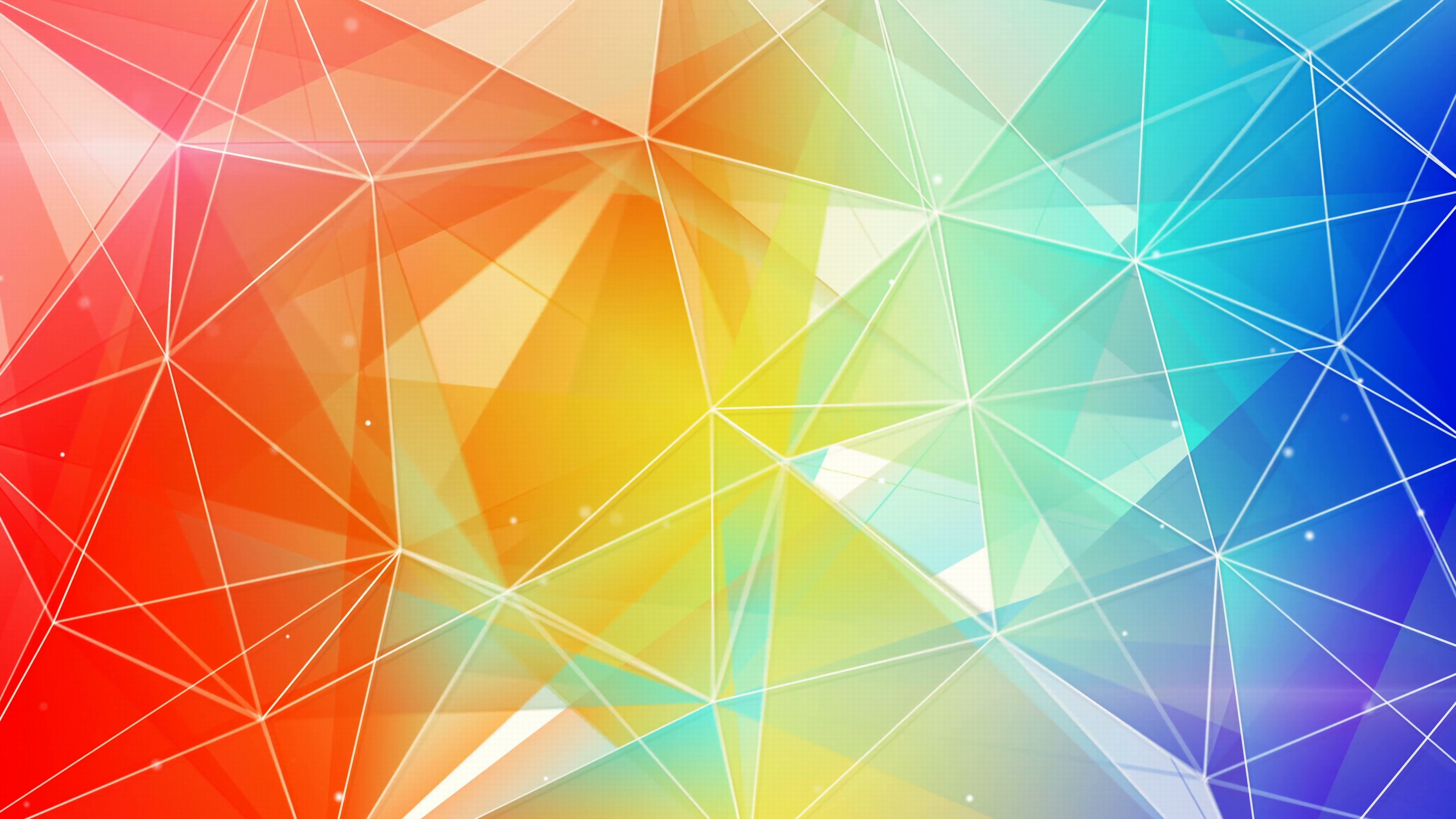 Colorful Wallpaper Hd For Wallpaper Idea   Data-src - Colorful Triangle Abstract Background - HD Wallpaper