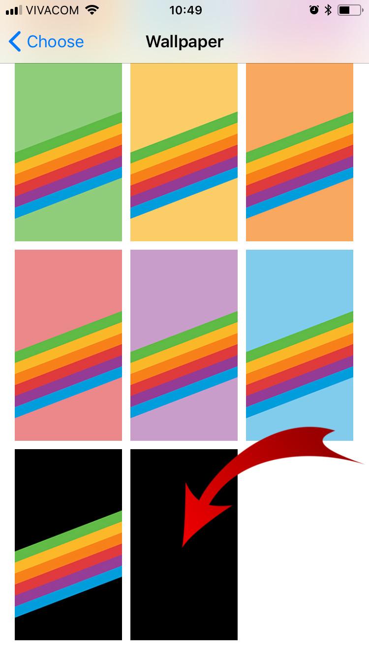 Original Iphone Homescreen Iphone Ios 11 Wallpaper Rainbow 750x1334 Wallpaper Teahub Io