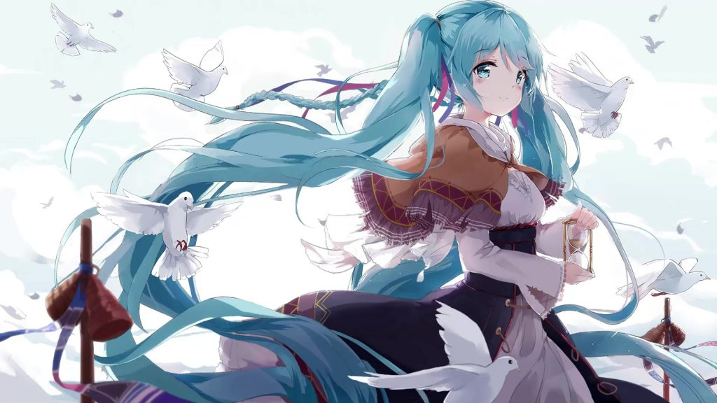 Miku Anime Live Wallpaper Free Pic Hwb312866 - Hatsune Miku Wallpaper Live - HD Wallpaper