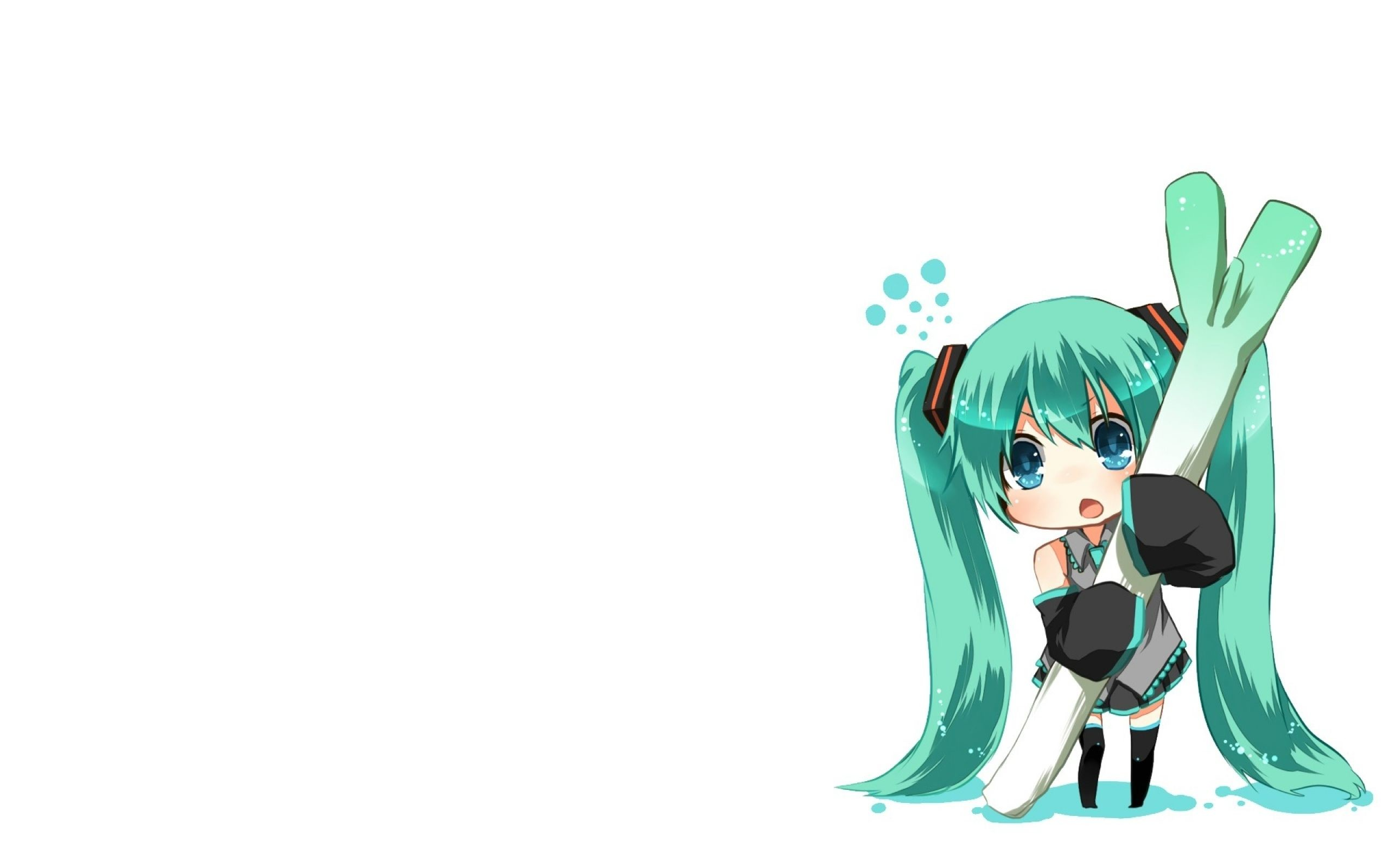 Free Anime Live Wallpaper For Android This Is A Cute - Hatsune Miku Chibi Wallpaper Android - HD Wallpaper
