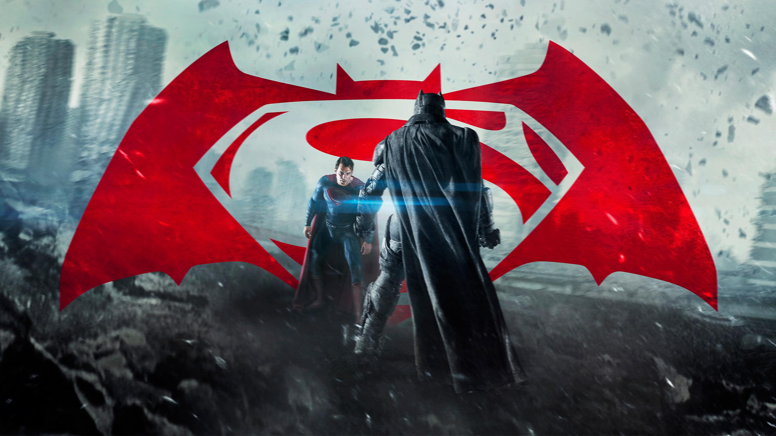 Batman V Superman Dawn Of Justice Hd Wallpapers Hd - Batman Vs Superman Logo 4k - HD Wallpaper