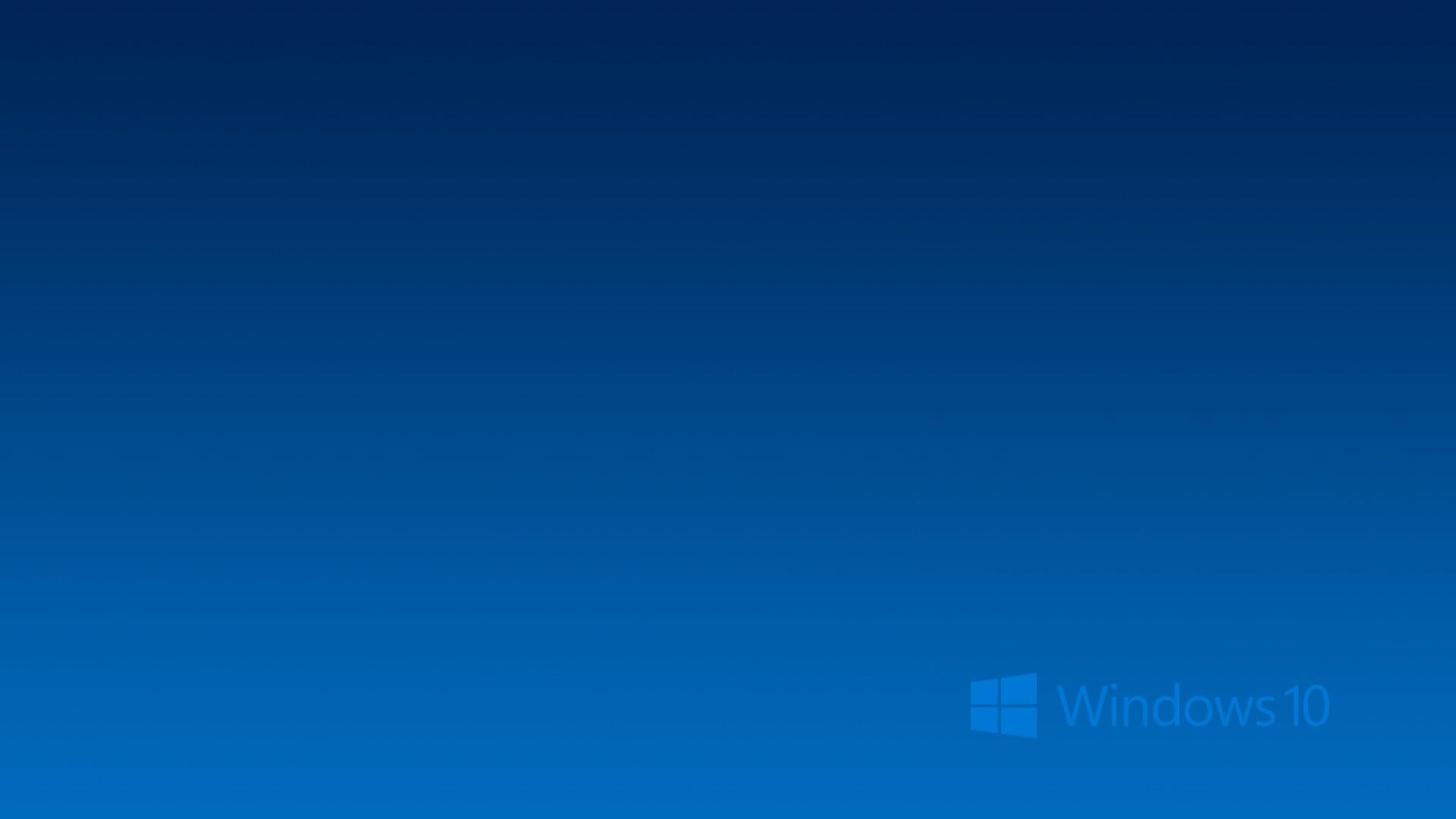 Hd Wallpaper Windows 10 With High-resolution Pixel - Windows 10 Background Blue - HD Wallpaper