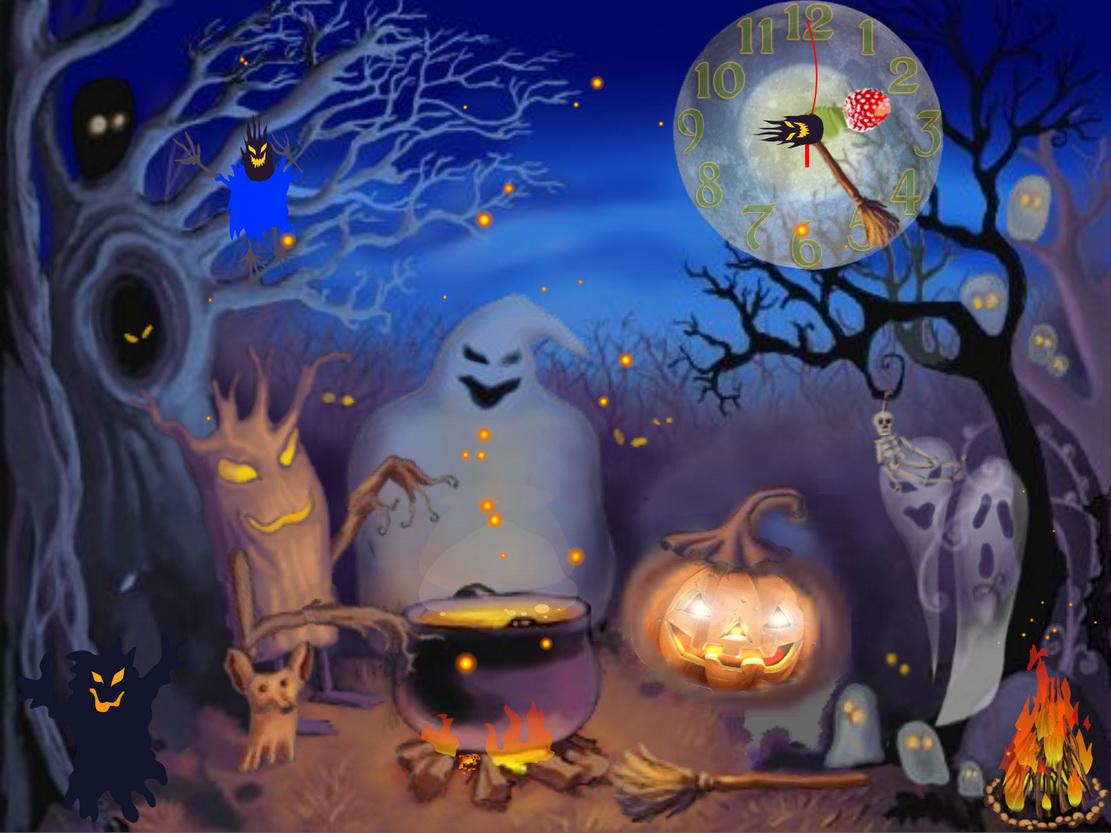 Animated Halloween Backgrounds 1024x768 Wallpaper Teahub Io