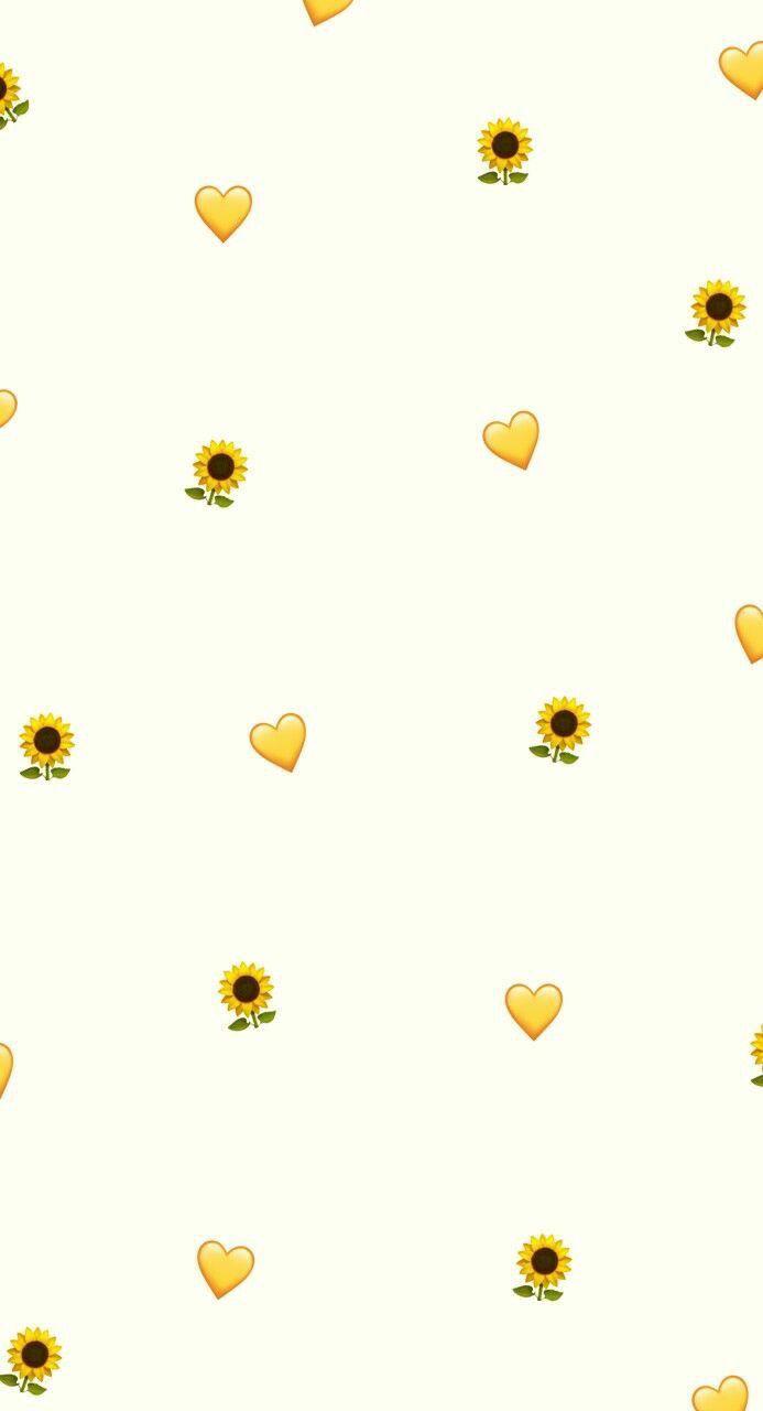 Cute Sunflower Wallpaper Iphone 693x1280 Wallpaper Teahub Io