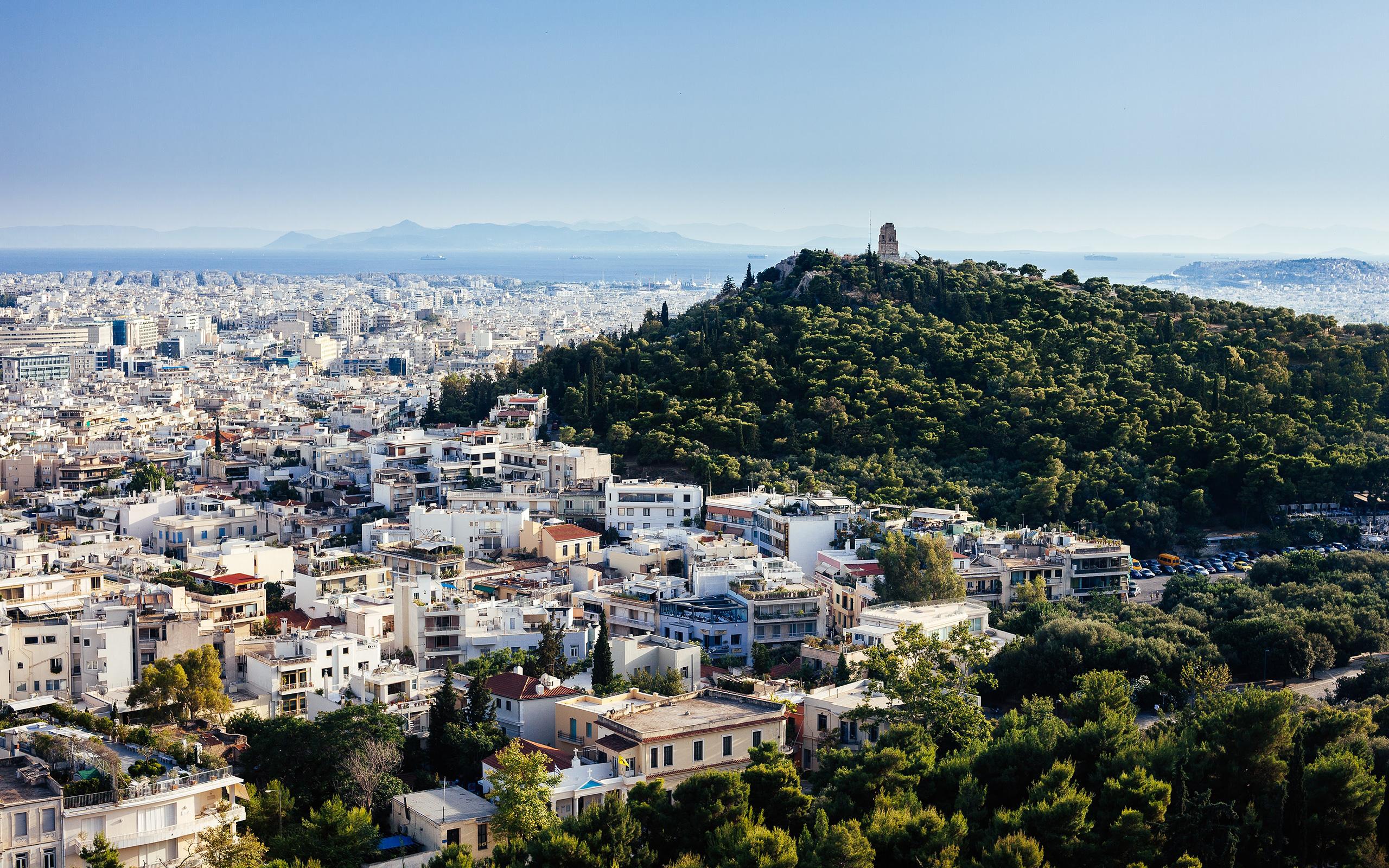 Athens Greece - HD Wallpaper