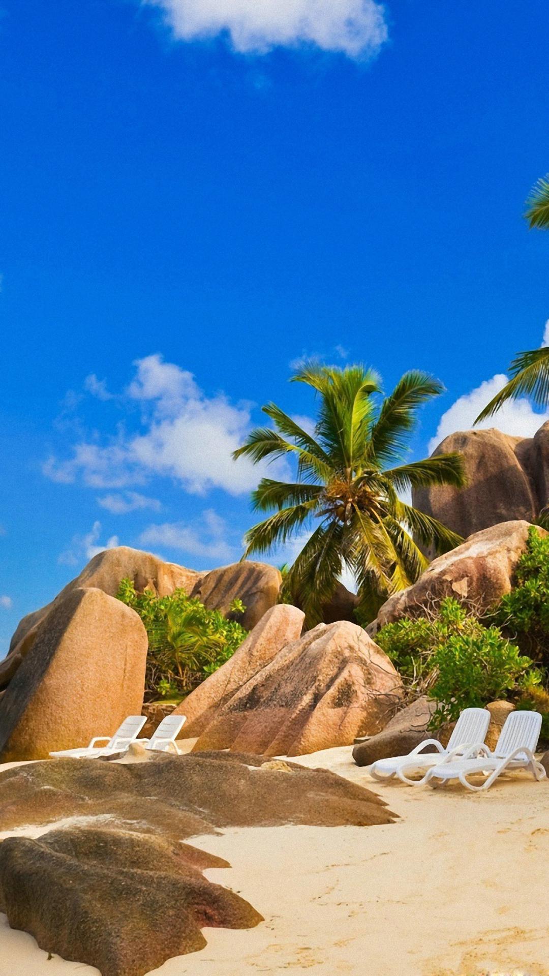 Free Pictures Beach Iphone Wallpaper Anse Soleil Beach Seychelles 1080x1920 Wallpaper Teahub Io