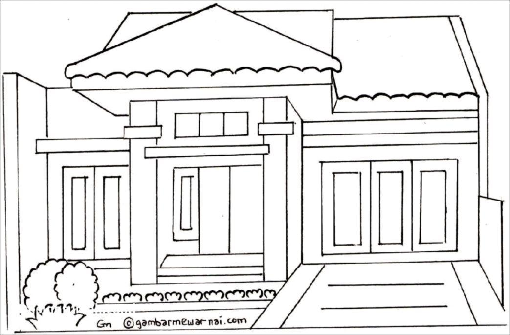 100 Contoh Denah Desain Rumah Coreldraw Paling Keren Mewarnai Rumah Idaman Minimalis 1043x685 Wallpaper Teahub Io
