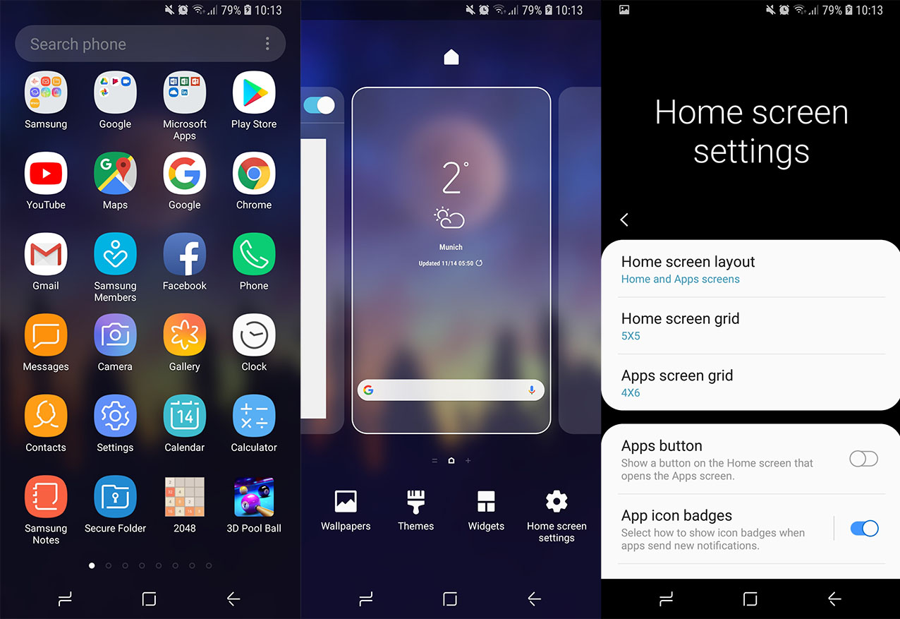 Download One Ui Touchwiz Pie Launcher Apk Samsung Galaxy S8 Edge Apps 1276x877 Wallpaper Teahub Io