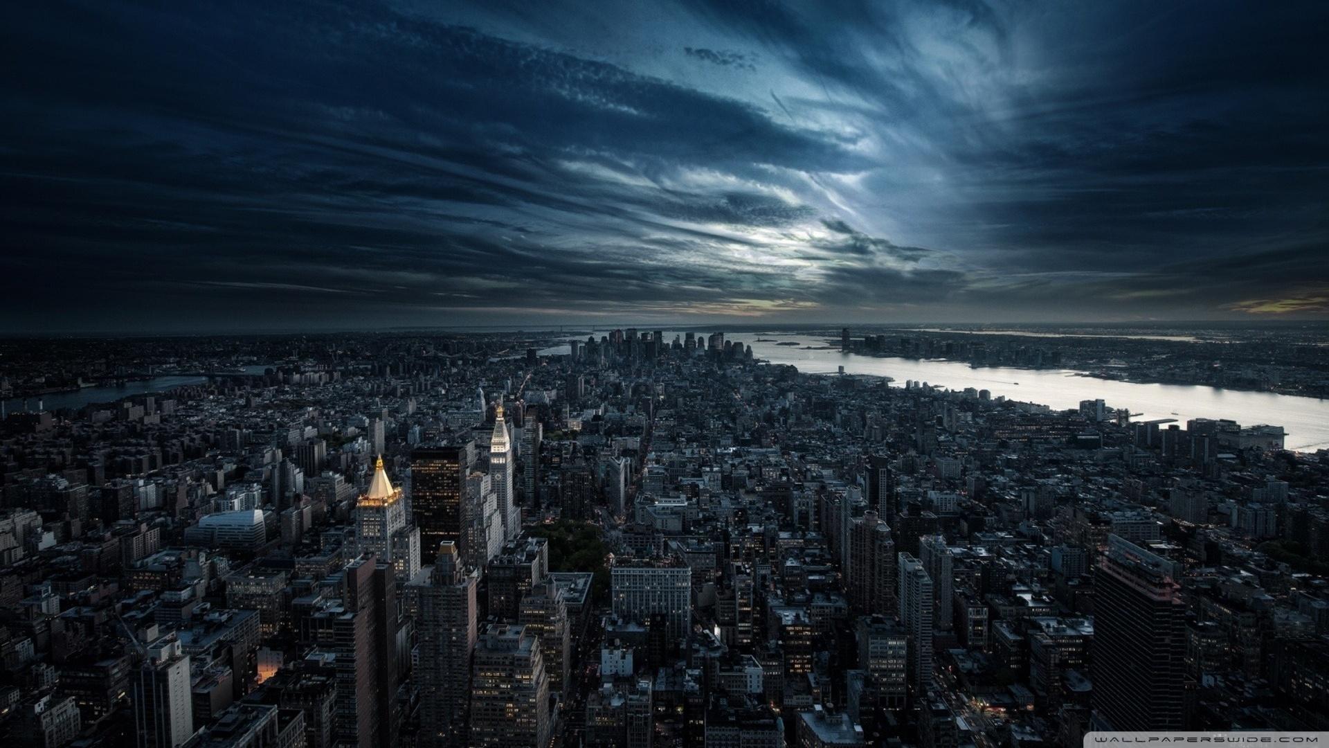 Wonderful City Night Wallpaper For Wallpapers Image - New York City - HD Wallpaper
