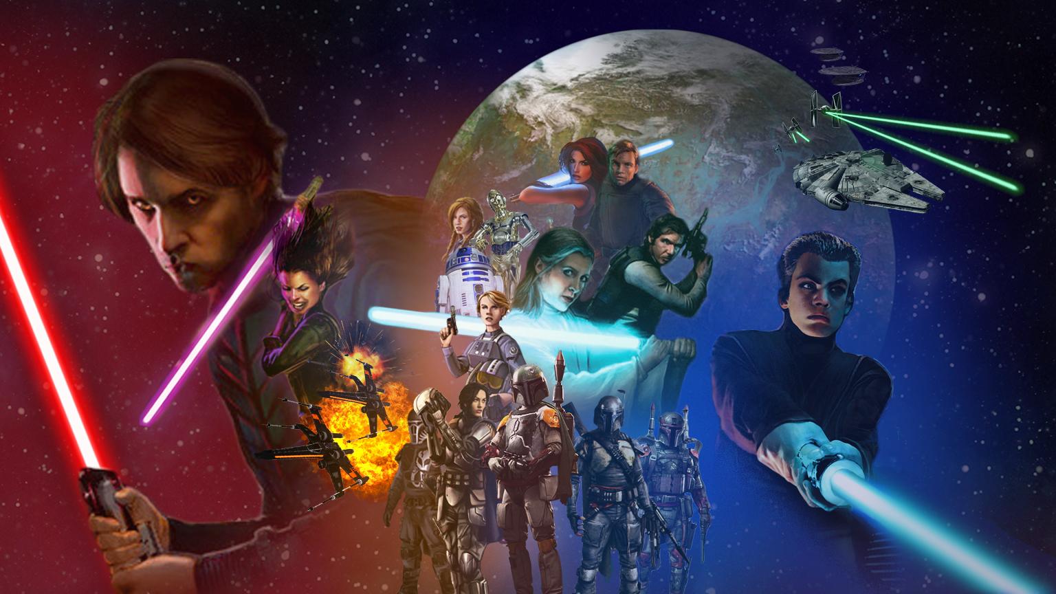 The Force Awakens Wallpaper - HD Wallpaper