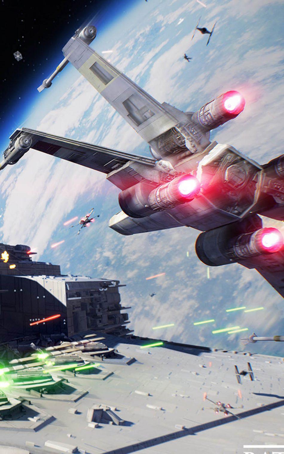 Spaceship Star Wars Star Wars Battlefront 2 Phone 950x1520 Wallpaper Teahub Io