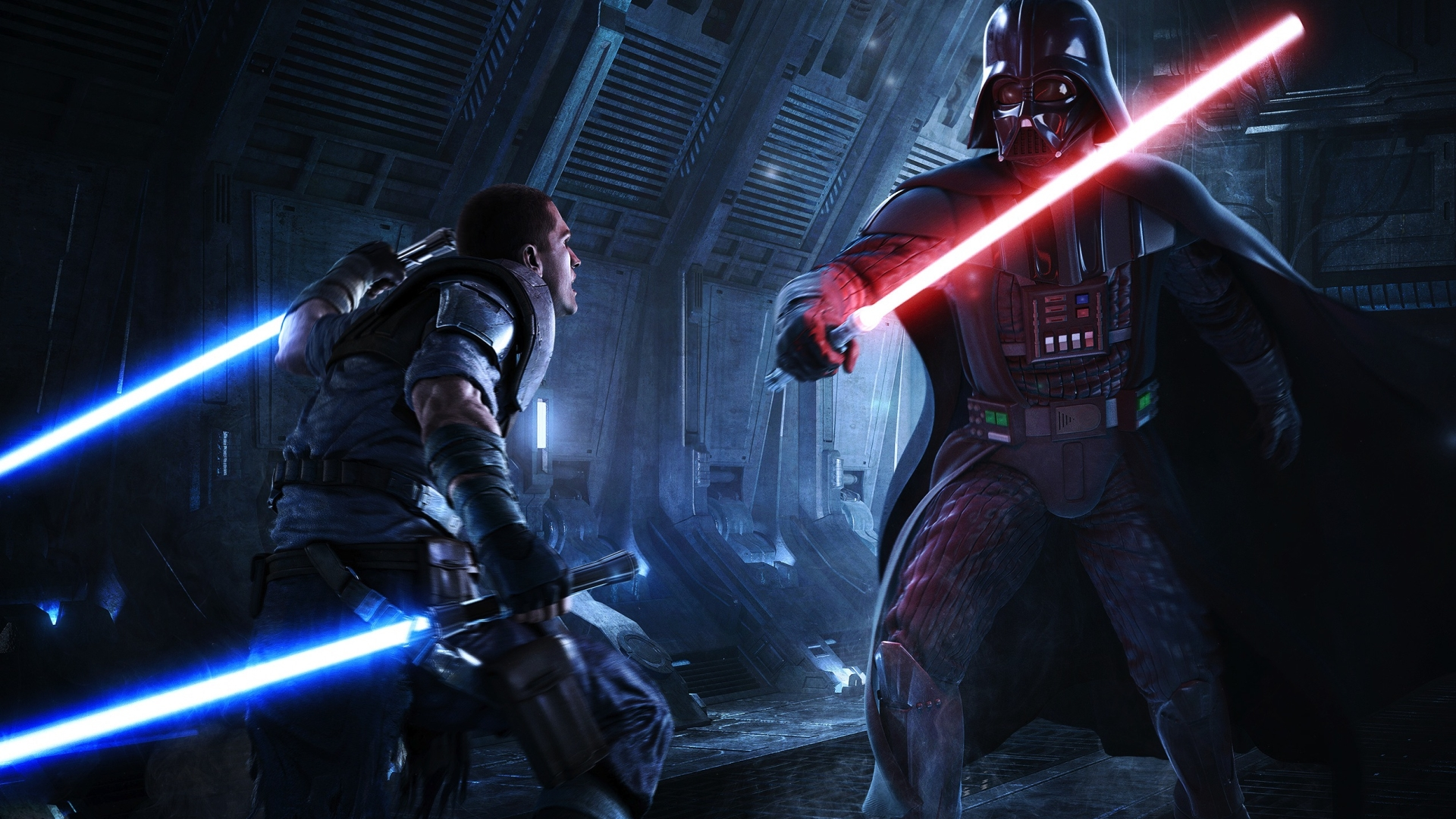 Star Wars Jedi Fallen Order Darth Vader 1920x1080 Wallpaper Teahub Io