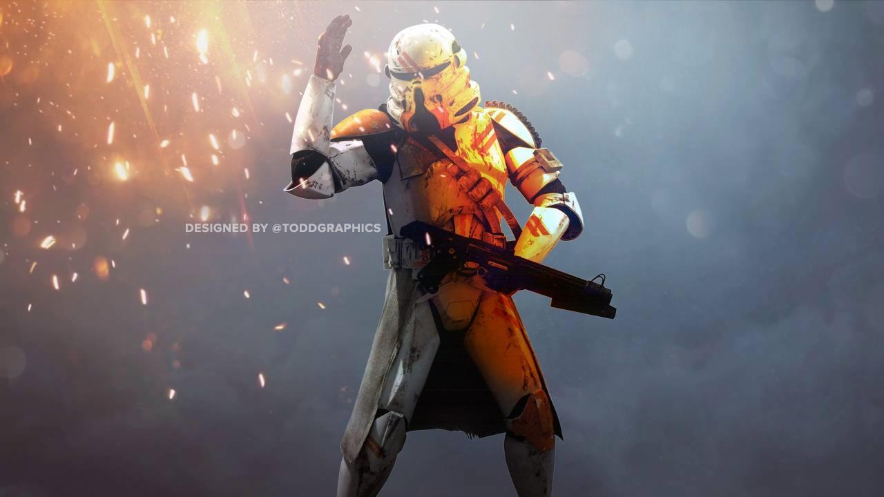 Star Wars Battlefront 2 Clone Trooper 1280x720 Wallpaper Teahub Io