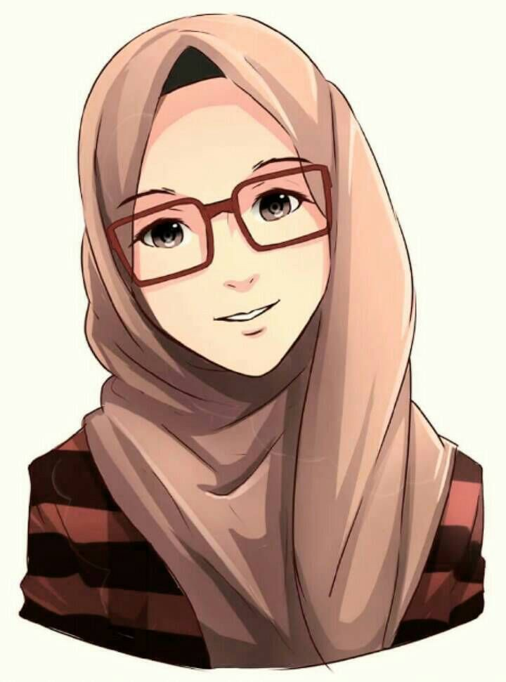 Hijab Anime - HD Wallpaper