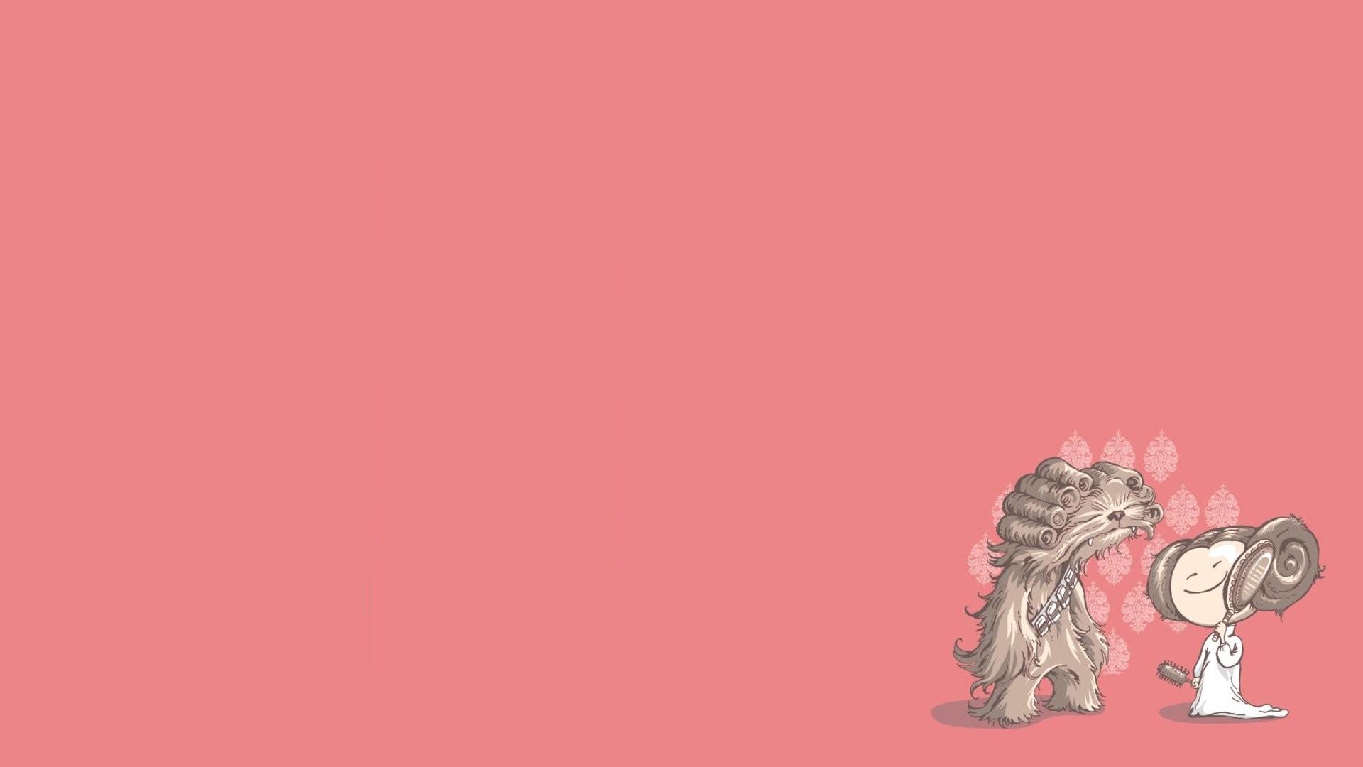 92 928149 star wars funny illustrations digital art wallpaper cute