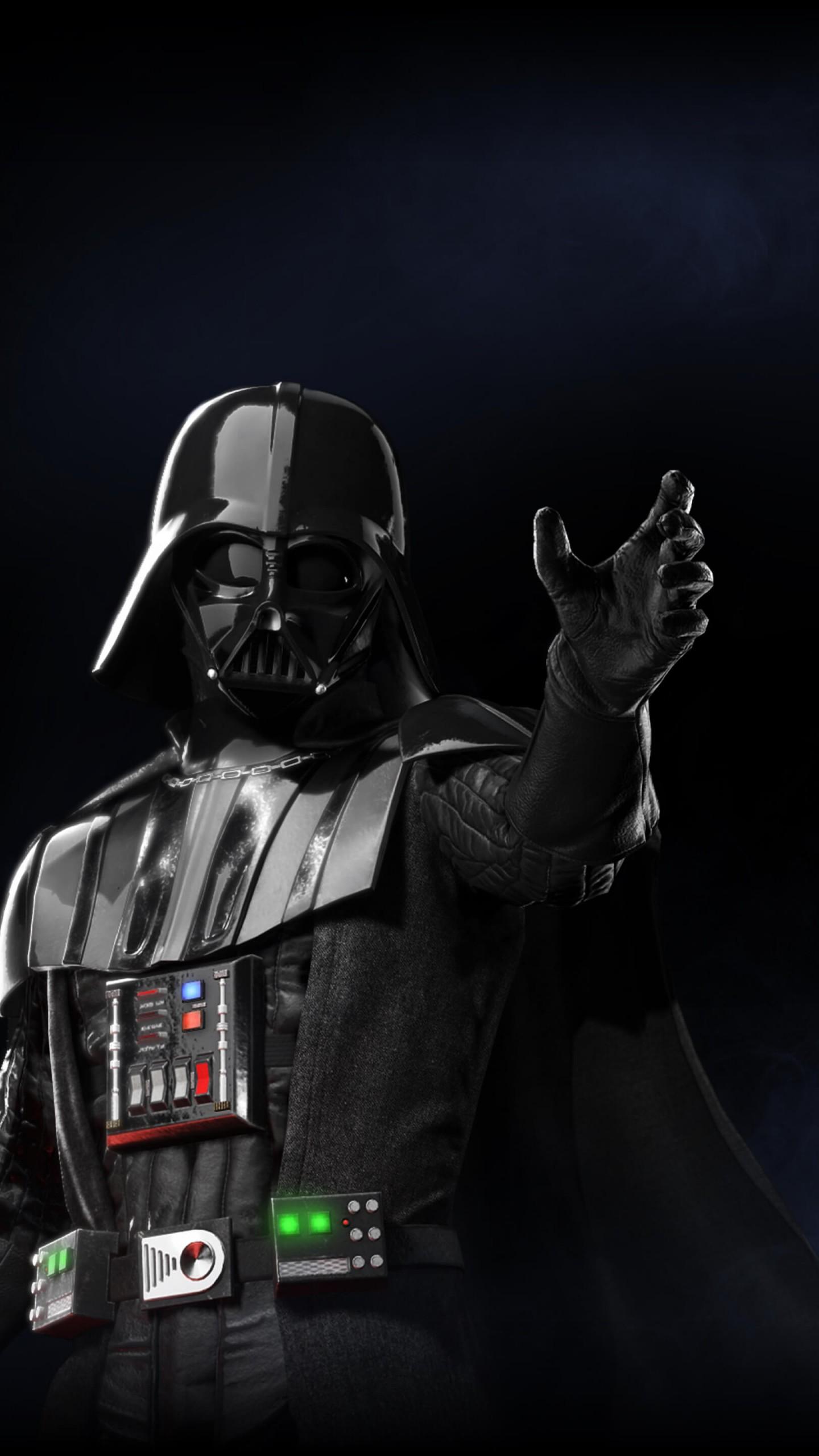 Star Wars Battlefront 2 Darth Vader 1440x2560 Wallpaper Teahub Io