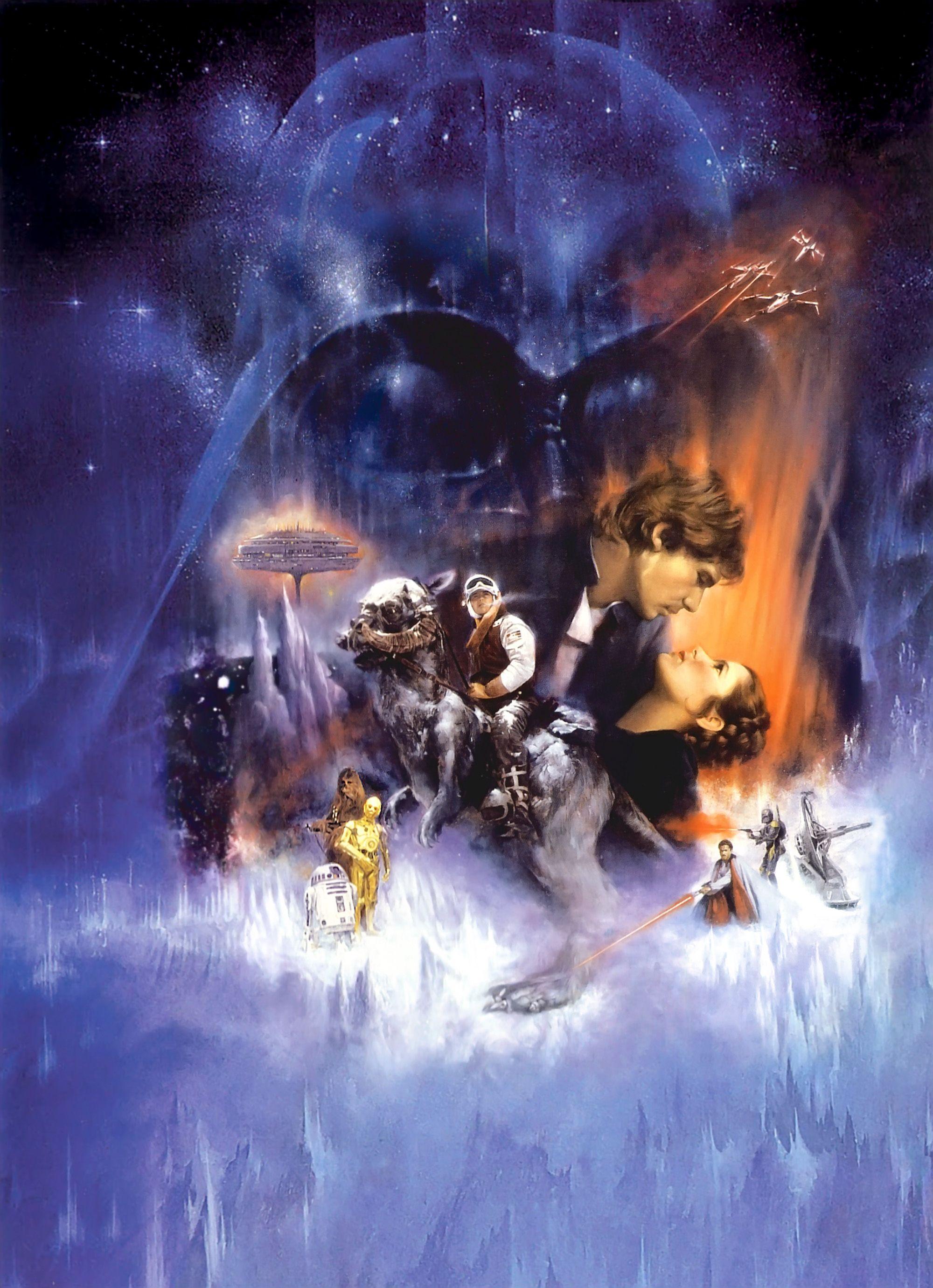 Wars The Empire Strikes Back 2000x2762 Wallpaper Teahub Io