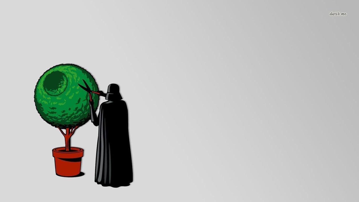 Download Hd Funny Star Wars Pc Wallpaper Id Star Wars Backgrounds Cute 1366x768 Wallpaper Teahub Io