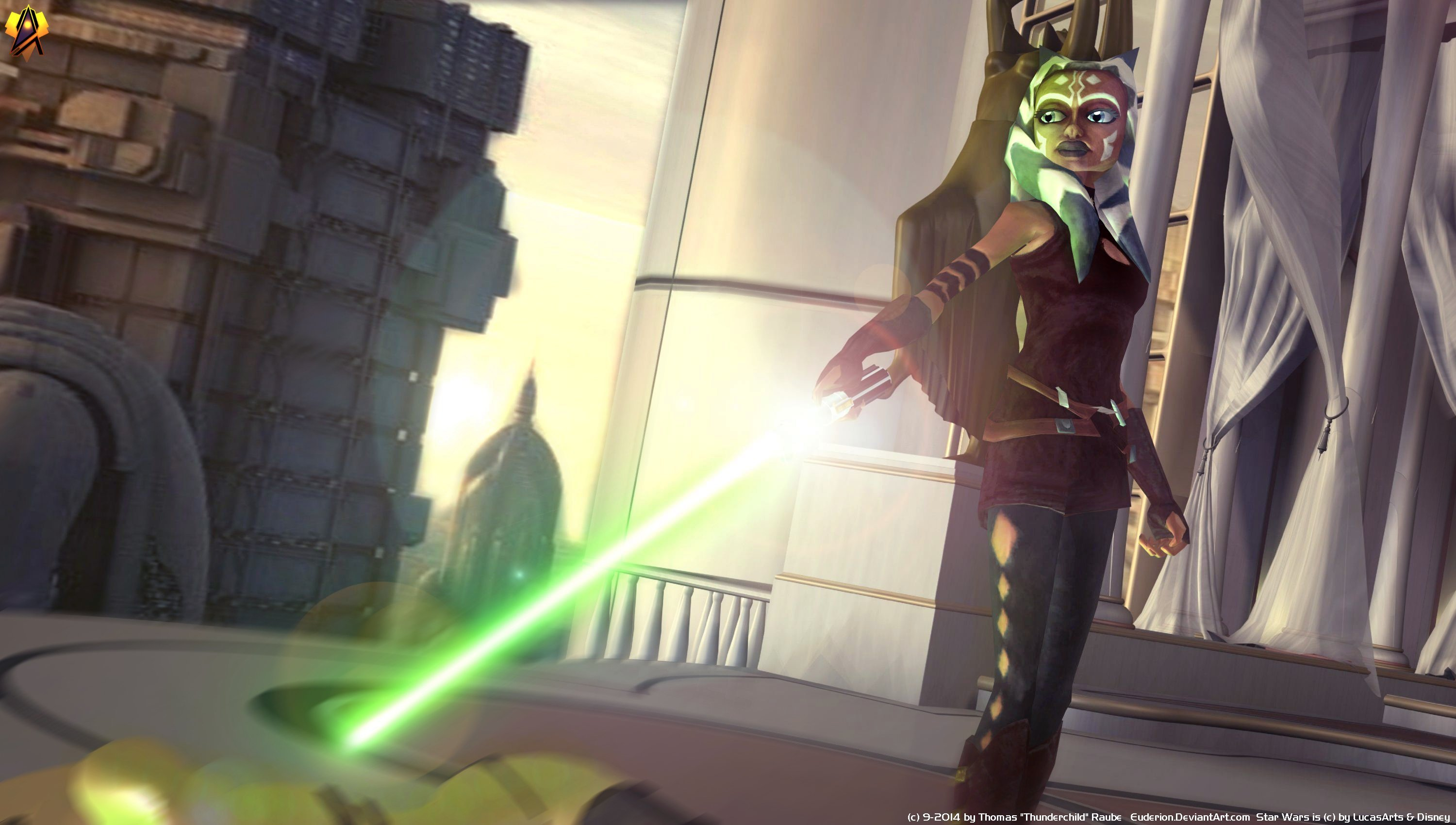 Star Wars The Clone Wars S7 3000x1700 Wallpaper Teahub Io
