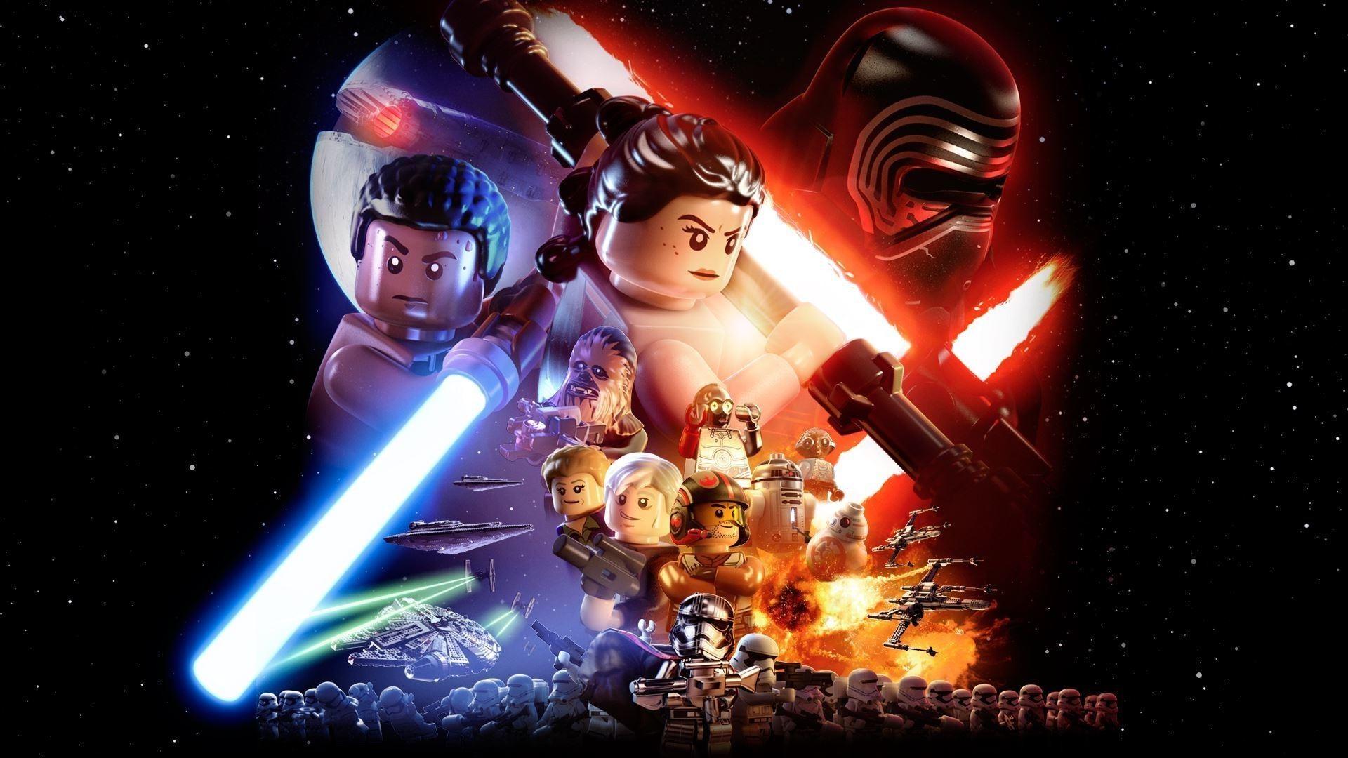 Lego Star Wars Lego Star Wars The Force Awakens 1920x1080 Wallpaper Teahub Io