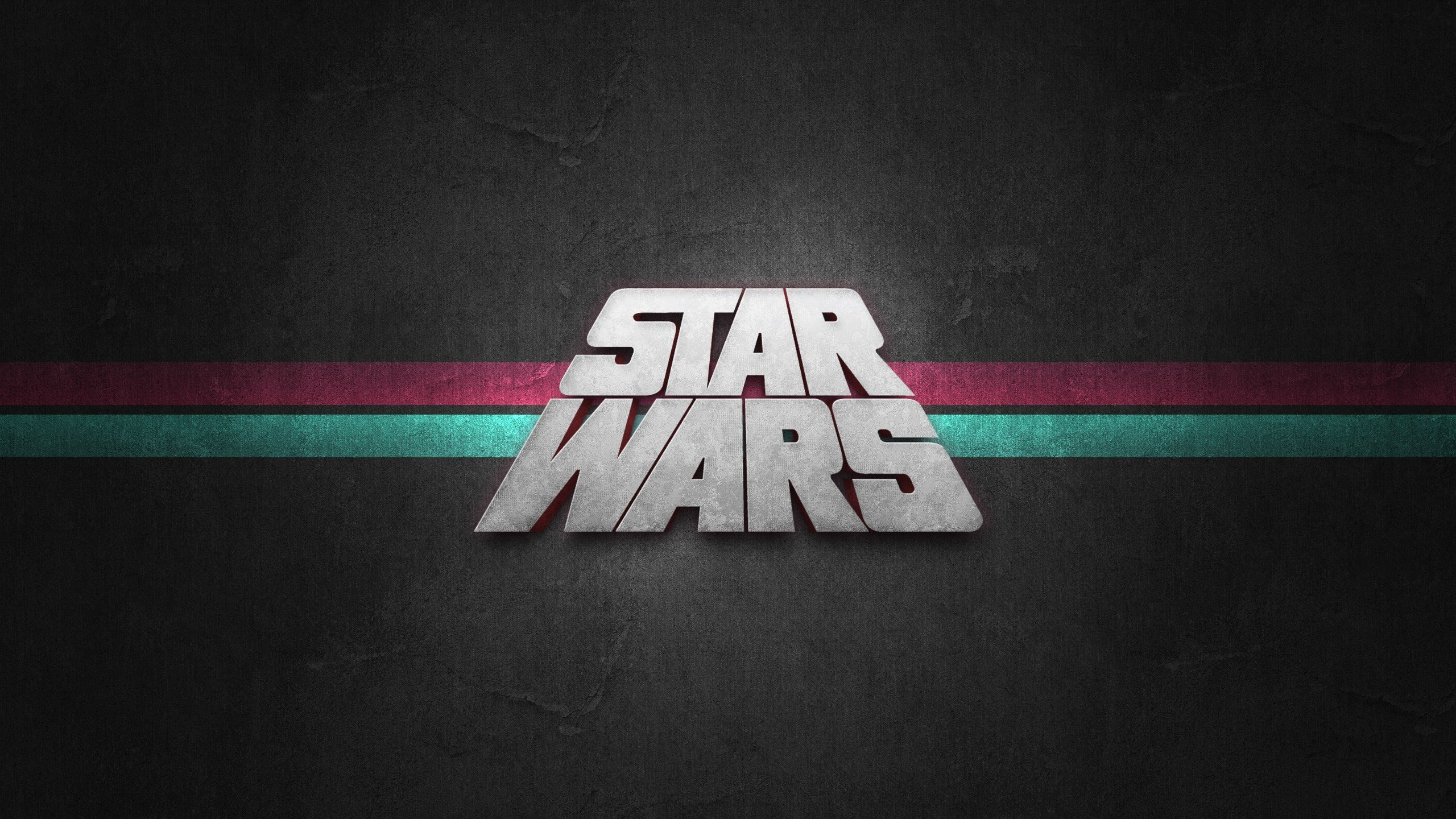 Hi Res Star Wars Wallpaper Star Wars Logo 4k 2560x1440 Wallpaper Teahub Io