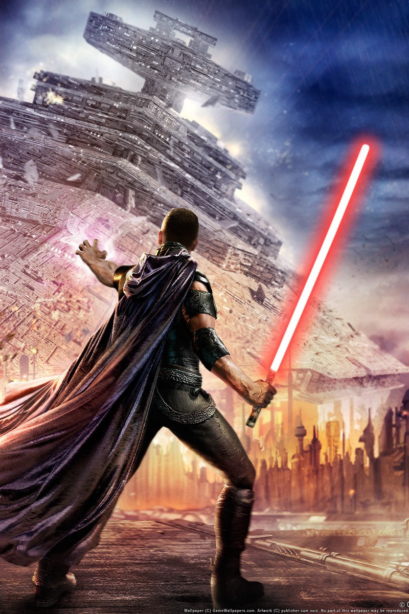 Wallpaper Star Wars The Force Unleashed Lightsaber Star Wars The Force Unleashed Iphone 800x1200 Wallpaper Teahub Io