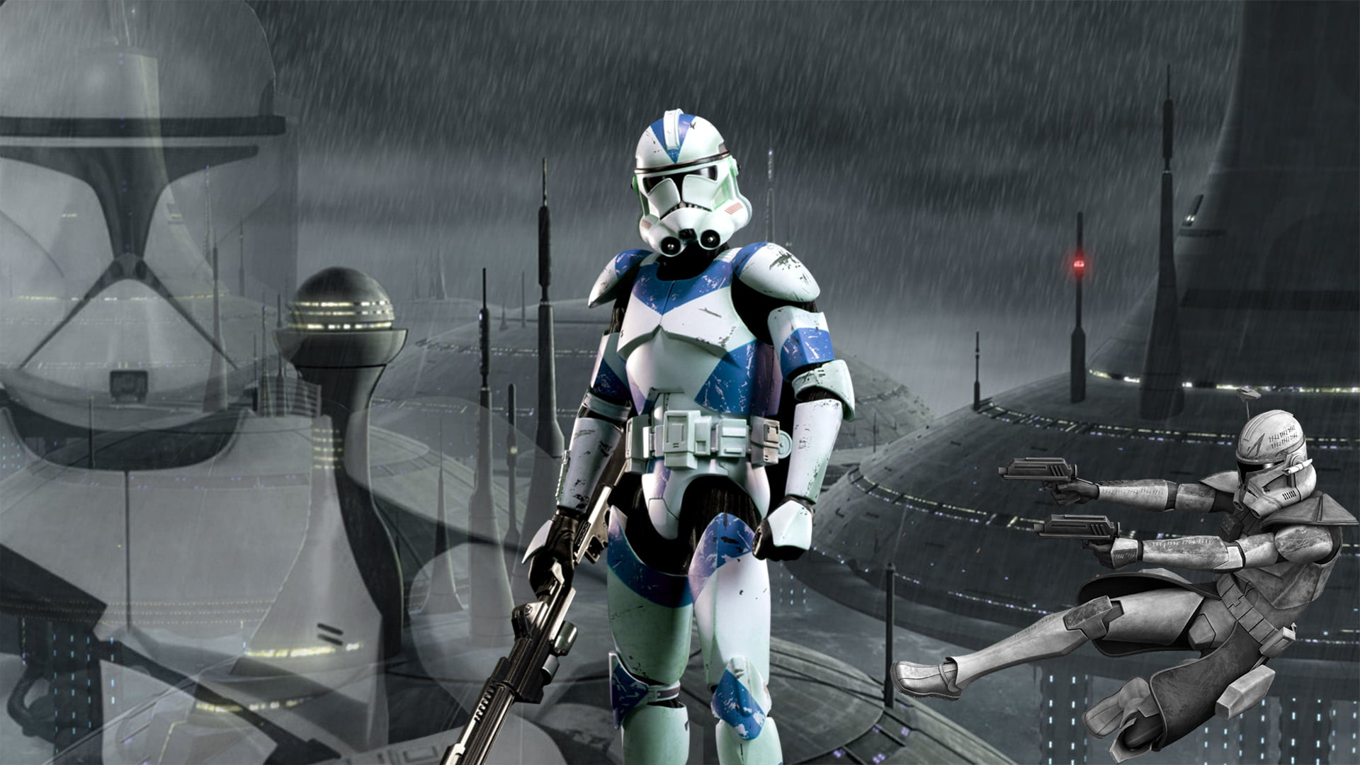 Clone Trooper Wallpaper Hd 1920x1080 Wallpaper Teahub Io