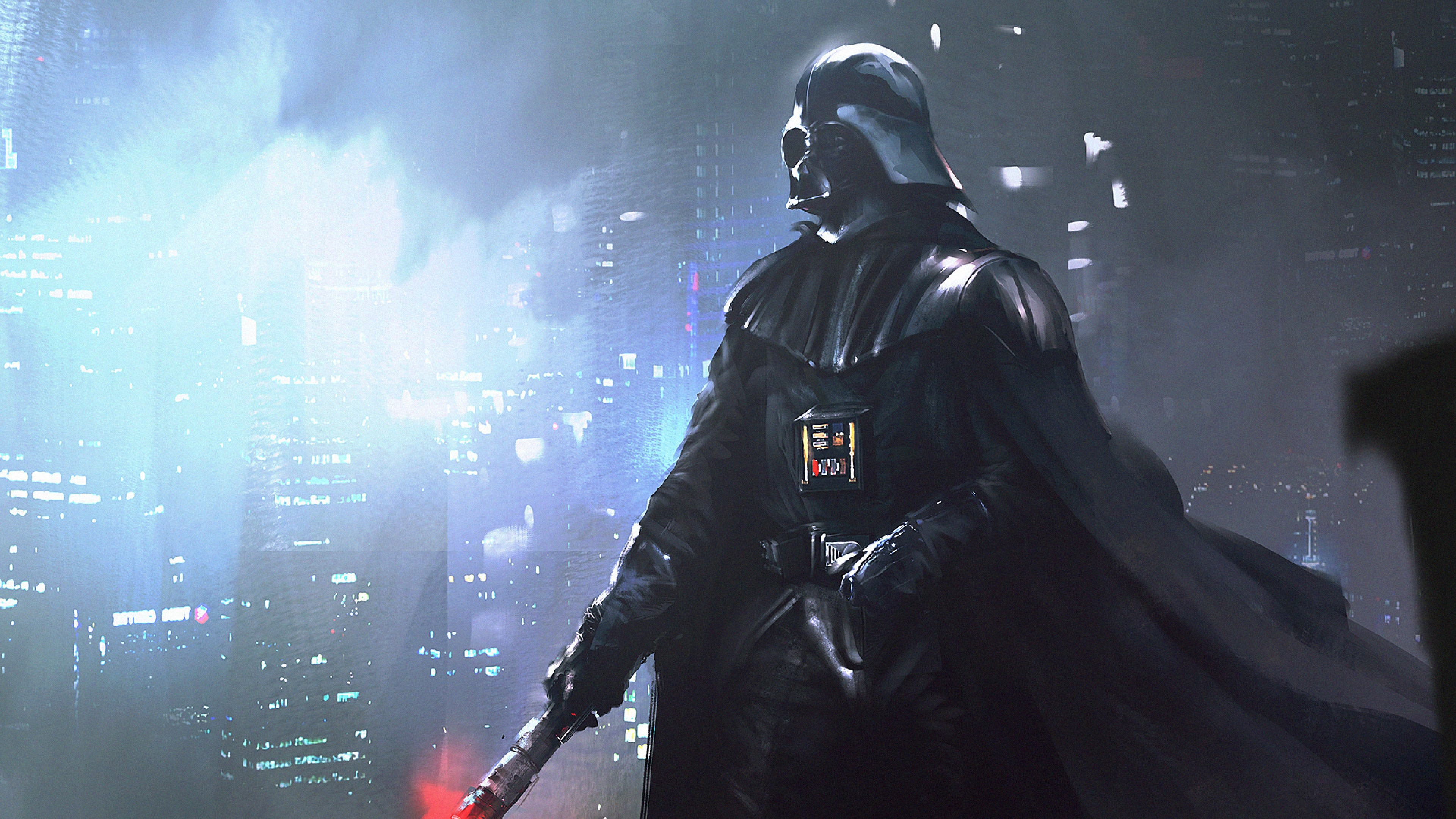 4k Ultra Hd Star Wars Wallpapers Hd Desktop Backgrounds Star Wars Darth Vader 4k 3840x2160 Wallpaper Teahub Io