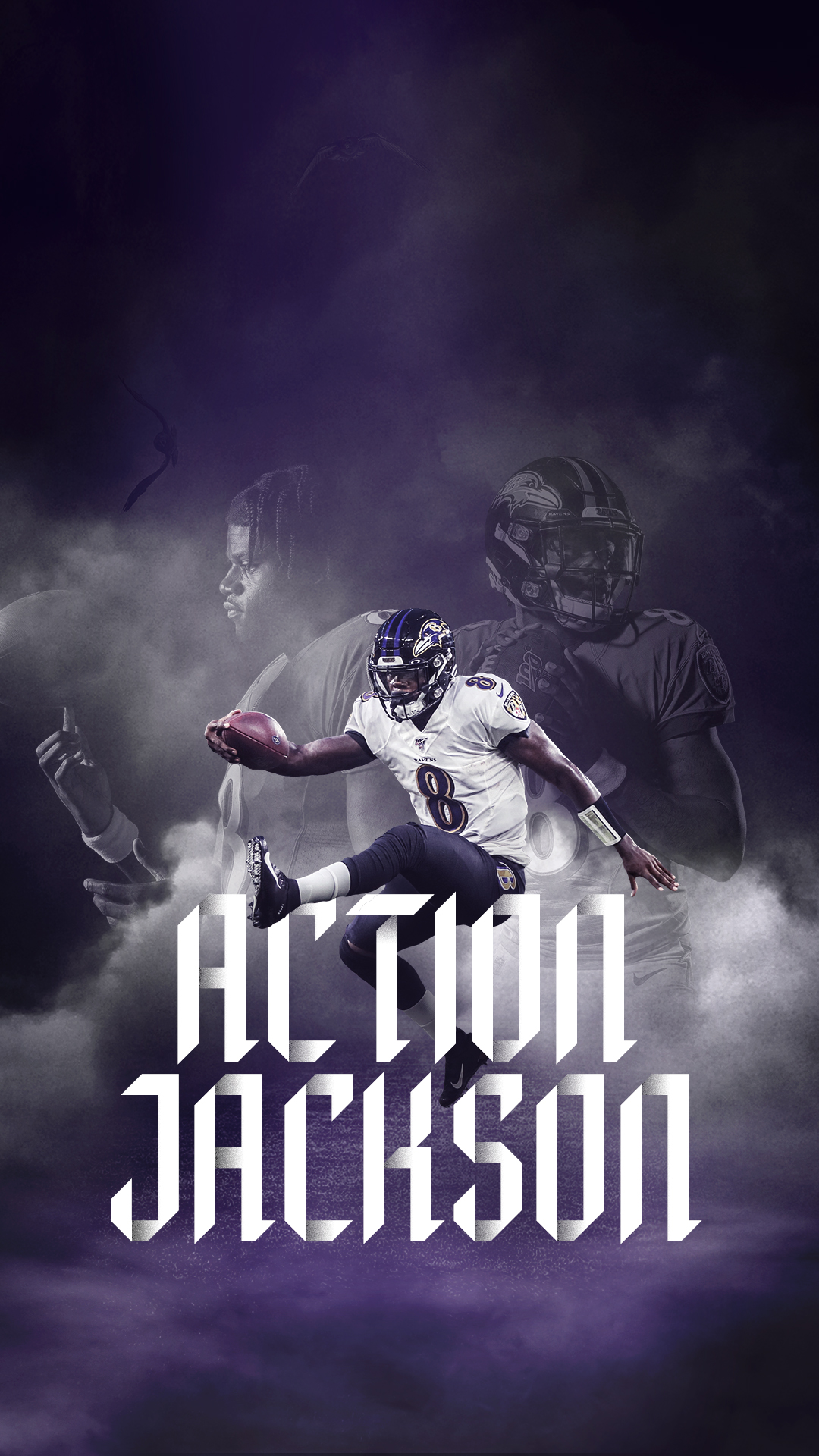 Baltimore Ravens Wallpaper Hd 1080x1920 Wallpaper Teahub Io