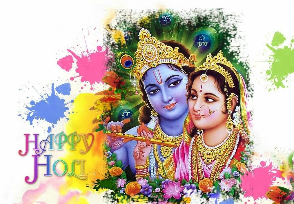 Holi Hd Wallpapers - Krishna Radha Png Hd - HD Wallpaper
