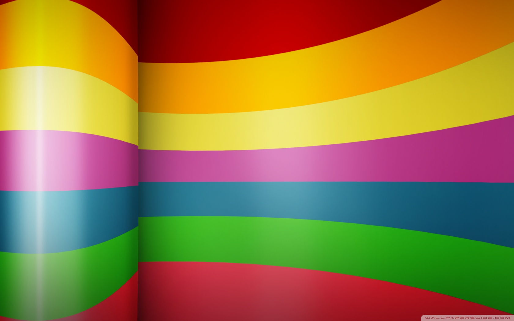 Rainbow Color Background Hd - HD Wallpaper