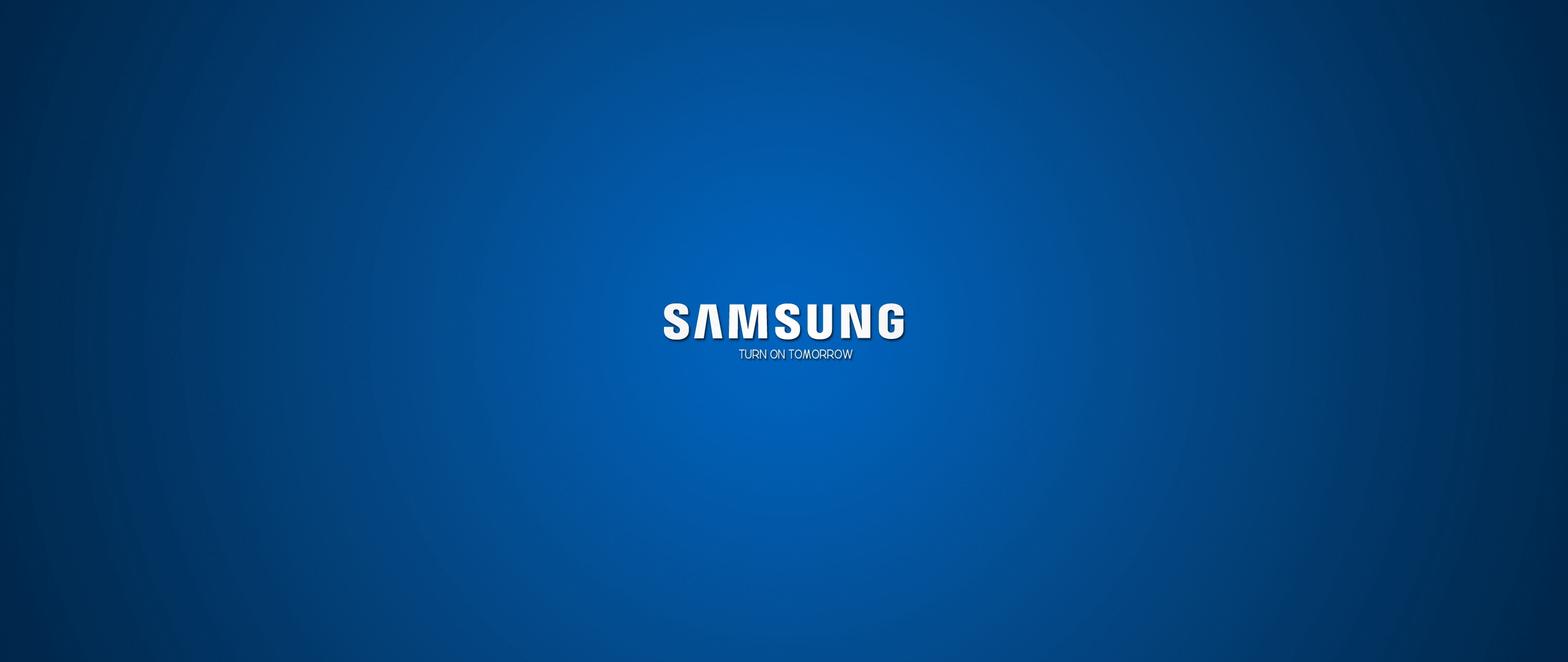 Wallpaper Samsung Company Logo Blue White Company Wallpaper Backgrounds 2560x1080 Wallpaper Teahub Io