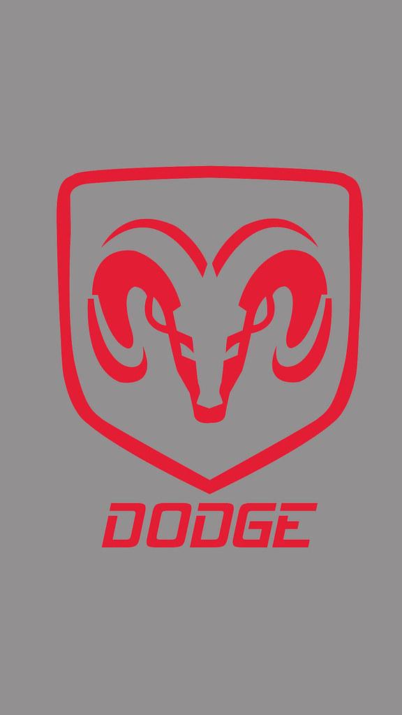 Dodge Logo Wallpaper Iphone 576x1024 Wallpaper Teahub Io