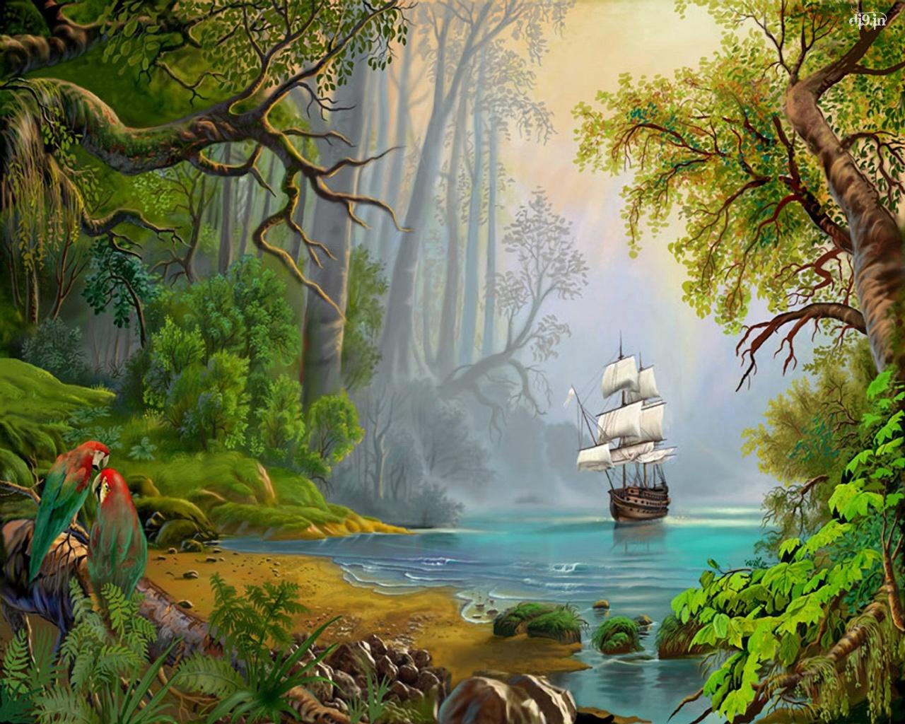 Latest Hd Nature Wallpapers Nature Art Wallpaper Hd 1280x1024 Wallpaper Teahub Io