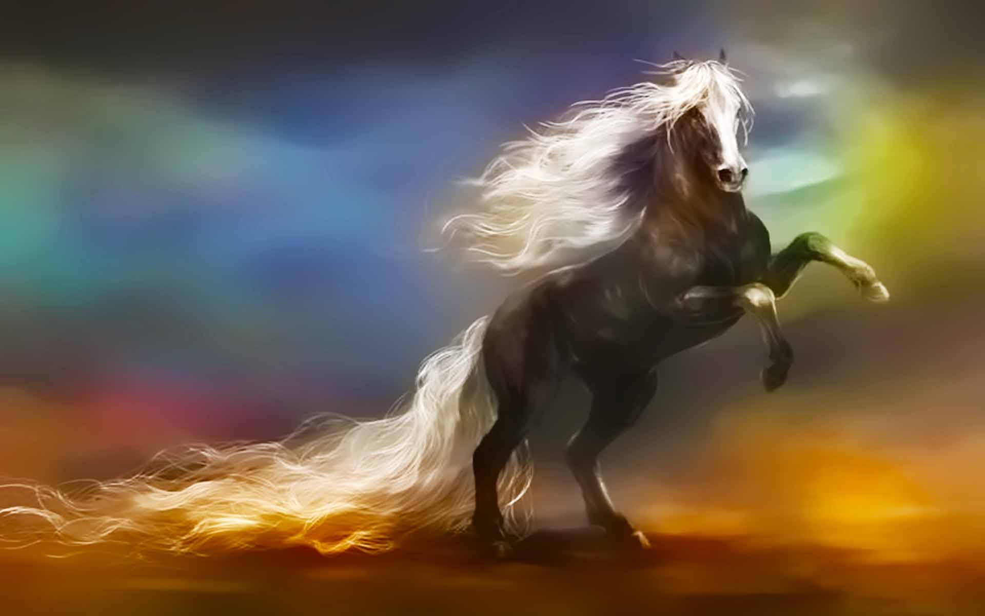 3d Horse Images Hd 1920x1200 Wallpaper Teahub Io