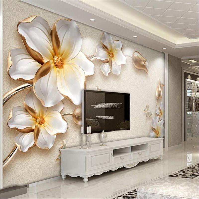 Modern Bedroom Wall Paper Design - HD Wallpaper