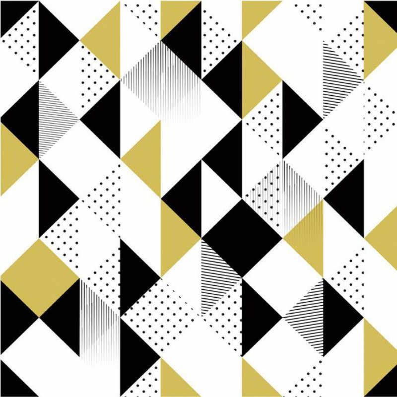 3d Stereoscopic Mural Wallpaper Tv Backdrop Painting - Modern Simple Geometric Patterns - HD Wallpaper