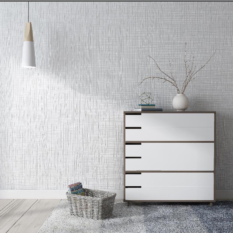 Modern Simple White Plain Bedroom Living Room Non Woven Living Room Wallpaper Grey 800x800 Wallpaper Teahub Io